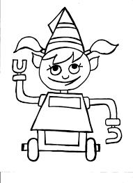 New] 150+ Tranh tô màu mang chủ đề Robot dành cho bé