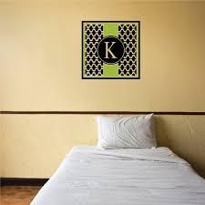 K Monogram Wave Color Wall Decal Vinyl Decal Car Decal Vd011 25 Inches Walmart Com Walmart Com