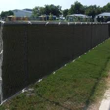 Secure Fencing Displays Are Offered In Different Colors And Also Can Be Personalized With You I Chain Link Fence Privacy Privacy Fence Screen Chain Link Fence