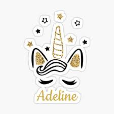 Adeline Stickers | Redbubble