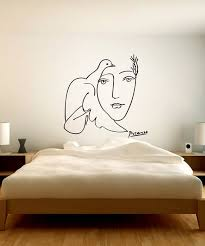 Pablo Picasso Wall Decal Art Wall Stickers Vinyl Art Wall Etsy