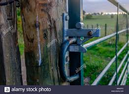 Farm Gate Latch High Resolution Stock Photography And Images Alamy