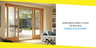 cost to put in a sliding glass door