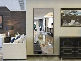 decorate home with full length mirrors