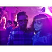 All About BuzzFeed - Ella Mielniczenko and Adam Bianchi selfie....
