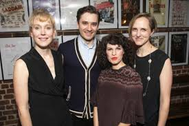 Hattie Morahan, Seth Numrich and the cast of Orpheus Descending ...