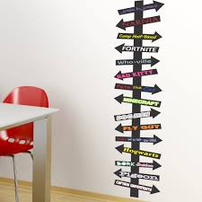 Colorful Book Destination Arrows Sign Library And Kid S Reading Area Green Frog Prints
