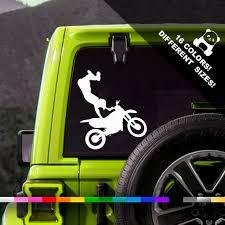 A50 Off Bike Rider Car Vinyl Decal Dirt Bike Truck Or Etsy