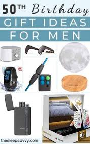 34 top 50th birthday gift ideas for men