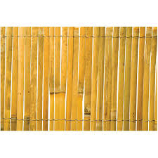2m Tall X 5m Long Split Bamboo Fence Home Hardware