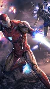 iron man iron rescue avengers endgame