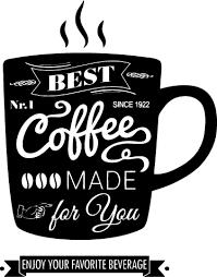Best Coffee Wall Sticker Tenstickers