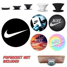 Nike Popsocket Decal Sticker Phone Grip And Holder Decal Sticker Cell Phone Stand Decal And Sticker Pop Socket No Popsockets Phone Grips Cell Phone Grip