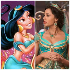 why jasmine doesn t bare her midriff