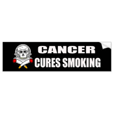 Lung Cancer Smoking Bumper Stickers Decals Car Magnets Zazzle