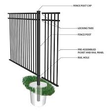 Yardlink Fencing Has A Variety Of Key Features To Make Installation An Easy And Seamless Process Fencing Fenc Metal Fence Panels Fence Panels Metal Fence