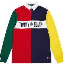 tommy hilfiger jeans 90s colorblock