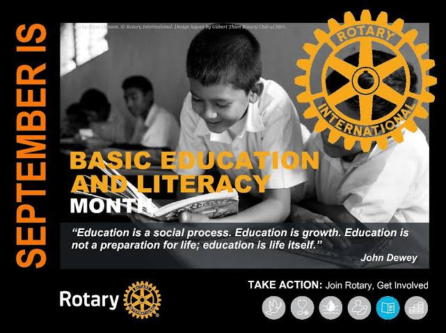 Image result for september rotary month