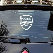 Fun Car Sticker Arsenal F C Car Mirror Door Bumper Window Body Styling Per Shopee Singapore