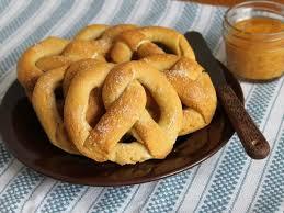 chewy gluten free soft pretzels