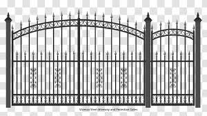 Gate Wrought Iron Fence Door Structure Transparent Png