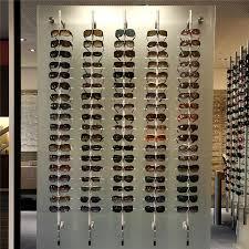 wall retail display rod for optics