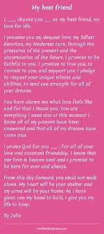 my best friend wedding poems traditional wedding vows wedding