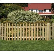 42 X 8 Gothic Picket Fence Panel Wood Fencing Kent Building Supplies
