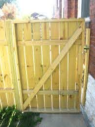 Building Wooden Fence Gate Addicted To Rehabs