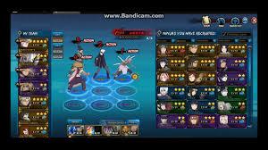 Naruto Online Best Shikaku Nara Teams F2P - YouTube