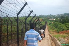 United Committee Manipur (UCM) inspection of India-Myanmar border ...