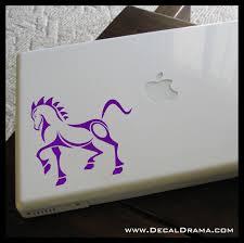 War Horse Cavalry Stallion Vinyl Car Laptop Decal Decal Drama