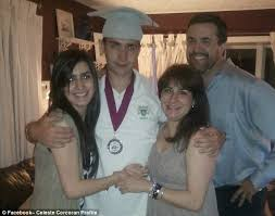 Boston bombs: How Kevin Corcoran heroically saved his wife's life ...