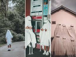 Ghost photoshoot' TikTok trend draws ...