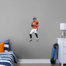 Fathead Nfl Denver Broncos Von Miller Life Size Officially Licensed Nfl Removable Wall Decal Super Bowl 50 Mvp Bumper Stickers