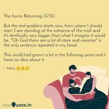 the home returning quotes writings by neha kumari