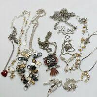 necklaces silver black jewelry bon ton