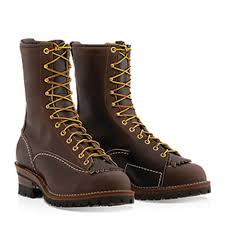 9710100 men s work boots brown leather
