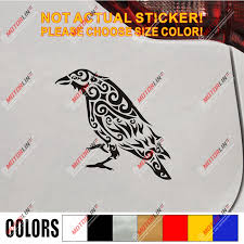 Odin Raven Decal Sticker Viking Norse Nord Norway Car Vinyl Pick Size Color C Car Stickers Aliexpress