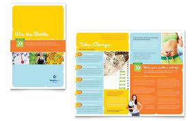sports fitness marketing brochures