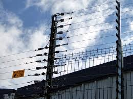 Electric Fence System Installation At Police Compound Electric Fence Security Fence Image House