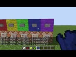 command blocks dyed leather armor