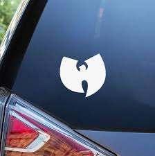 Amazon Com Cars Stickers For Car 13cm X 13cm Wu Tang Car Window Decal Clan Rza Gza Odb Method Man New York Rap Decor Car Stickers Car Styling Home Kitchen