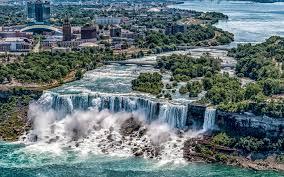 تحميل خلفيات شلالات نياغارا نيويورك شلال جميل شلالات نهر الصيف