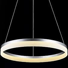 round led pendant light modern acrylic