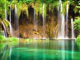 charm waterfall animated wallpaper