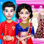 royal indian wedding dress up and