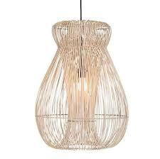 indah rattan pendant light natural in