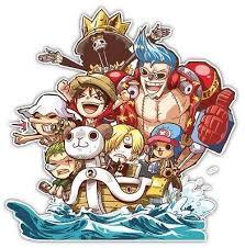 One Piece Going Merry Luffy Chopper Anime Car Motor Window Jdm Decal S Anime Stickery Online