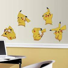 Wall Decals Removable Wall Stickers Tagged Pokemon Roommates Decor